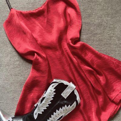 Vestido Málaga – Rojo