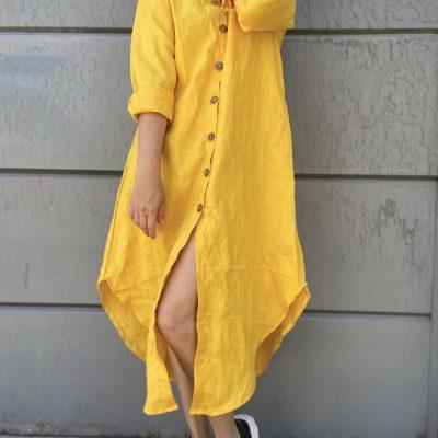 Camisola – Vestido 100% Lino