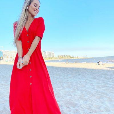 Vestido Mumbai Rojo