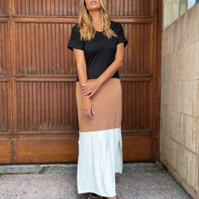 Vestido/ Remerón combinado