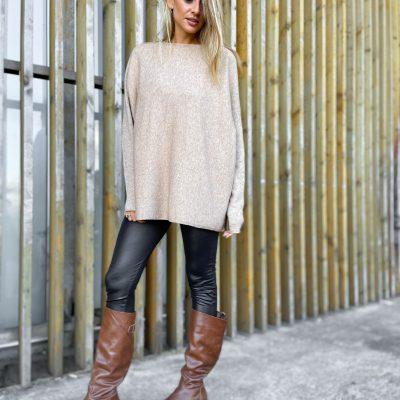 Sweater Oversize Beige