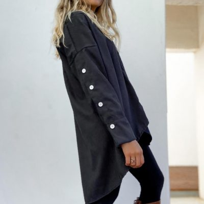 Camisa Oversize Negra