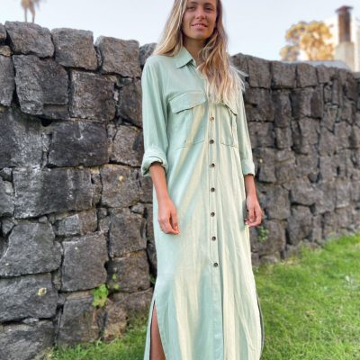 Camisola Vestido en Lino